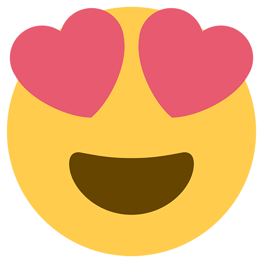 Heart eye emoji png. Smiling face with shaped