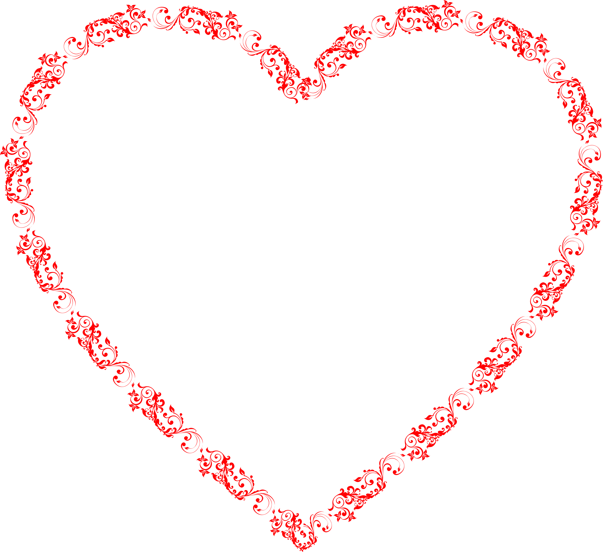 Heart flourish png. Icons free and downloads