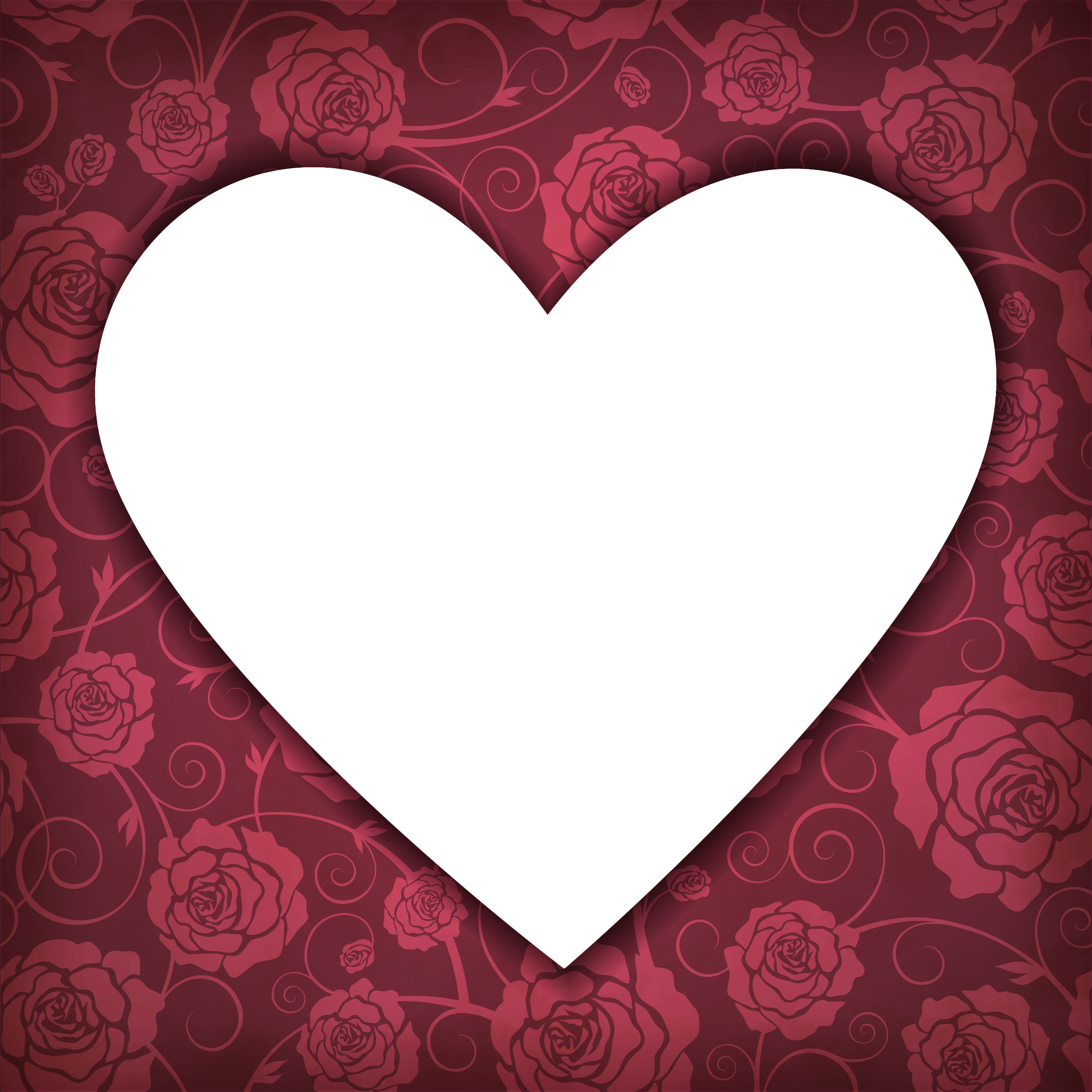Transparent photo gallery yopriceville. Heart frame png png library download