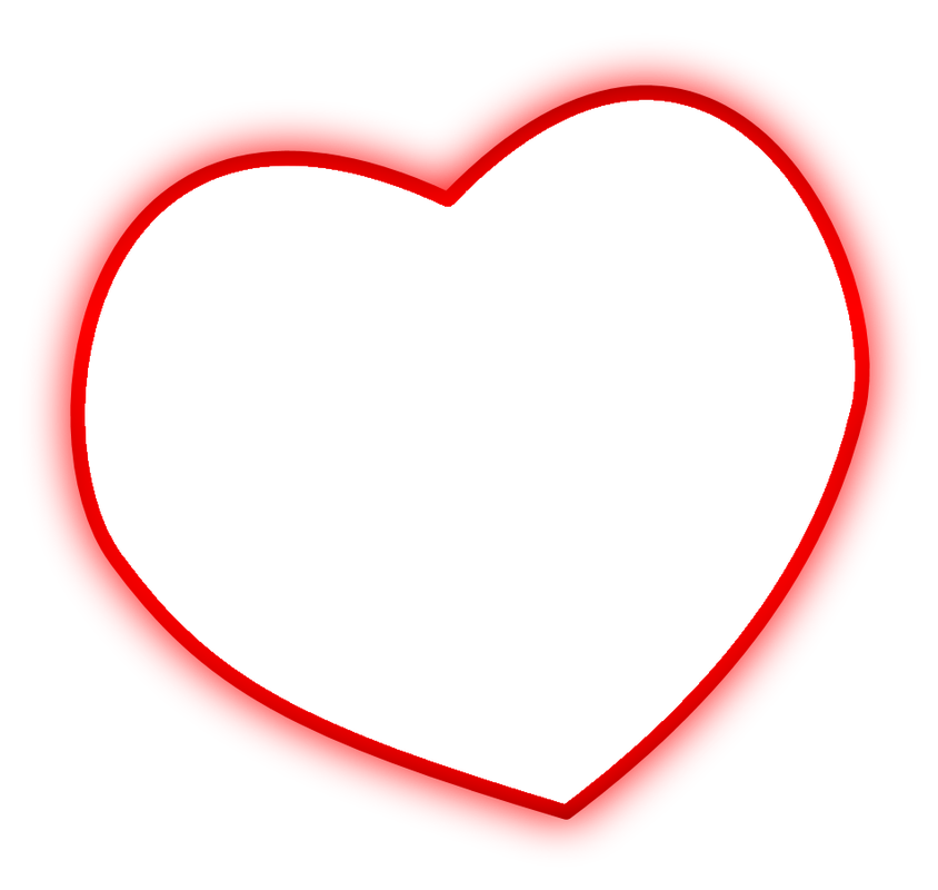 Heart frames png. Shape for picture editing
