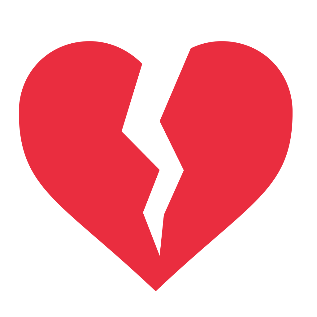 Heart icon png transparent. Broken photo pic free