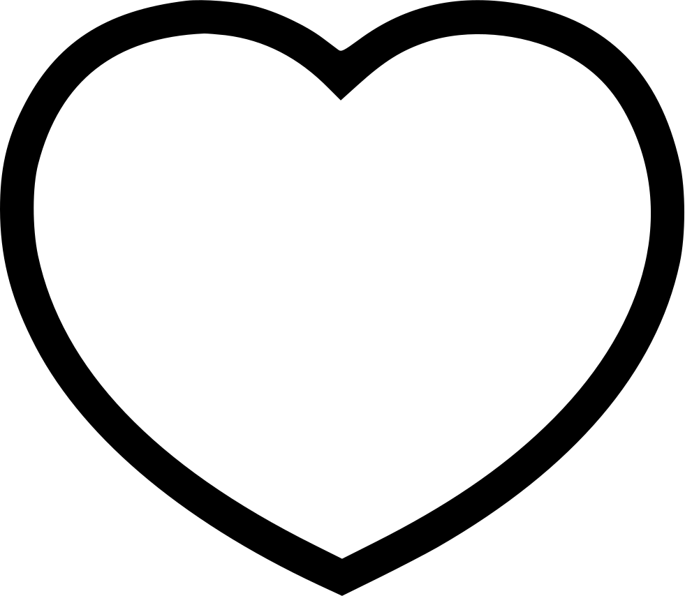 Heart line png. Heartline svg icon free