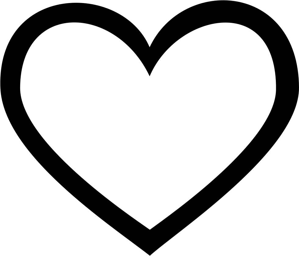 Heart line png. Svg icon free download