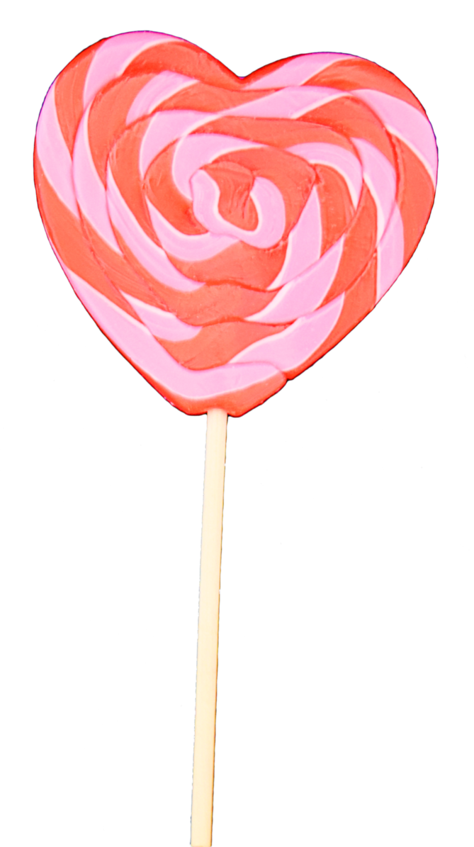 Heart lollipop png. Updated stock by mom