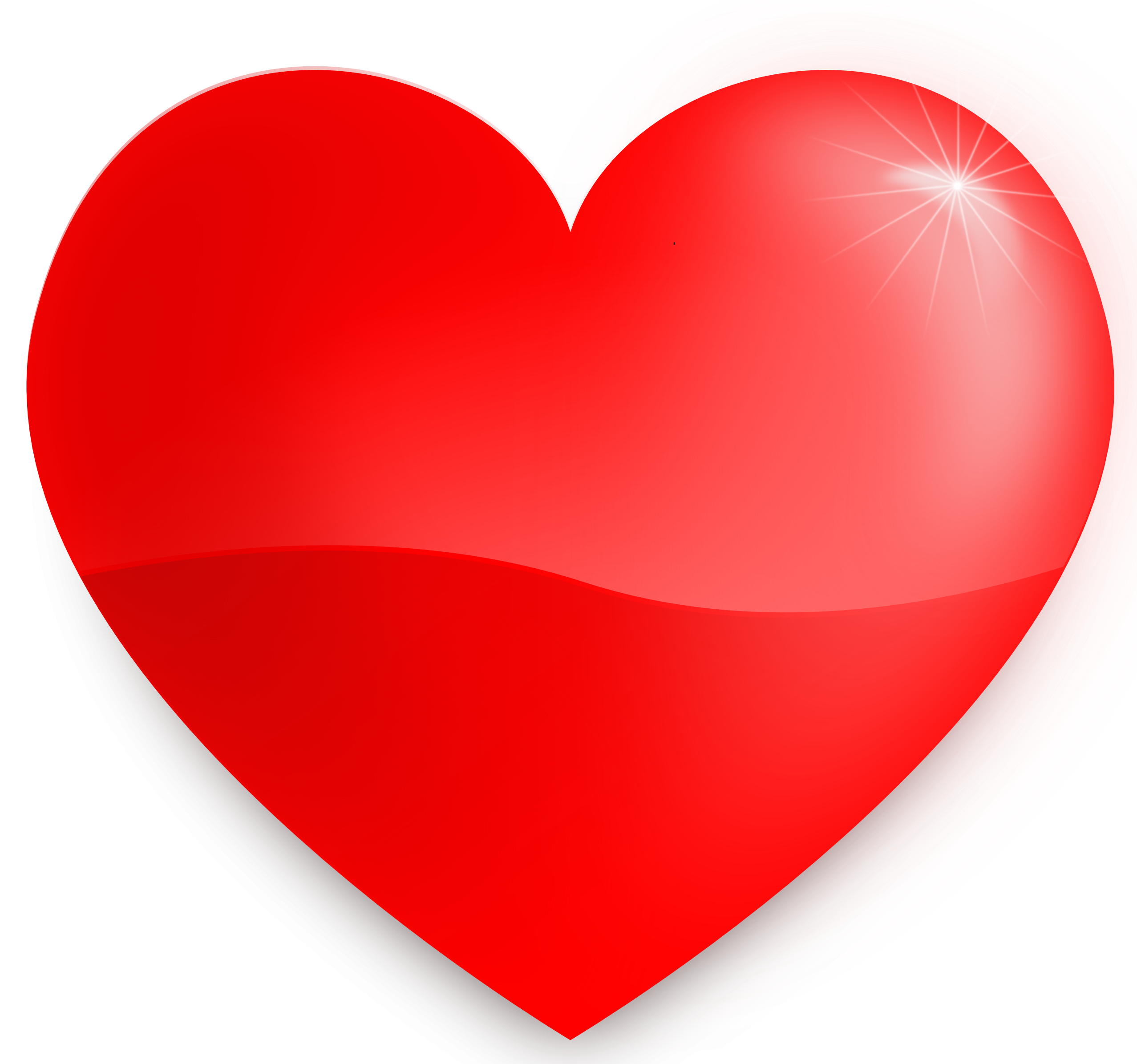 Heart love png.