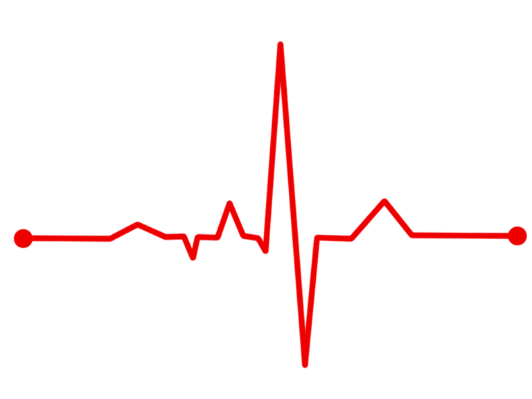 Heart monitor line png. Will cars your health