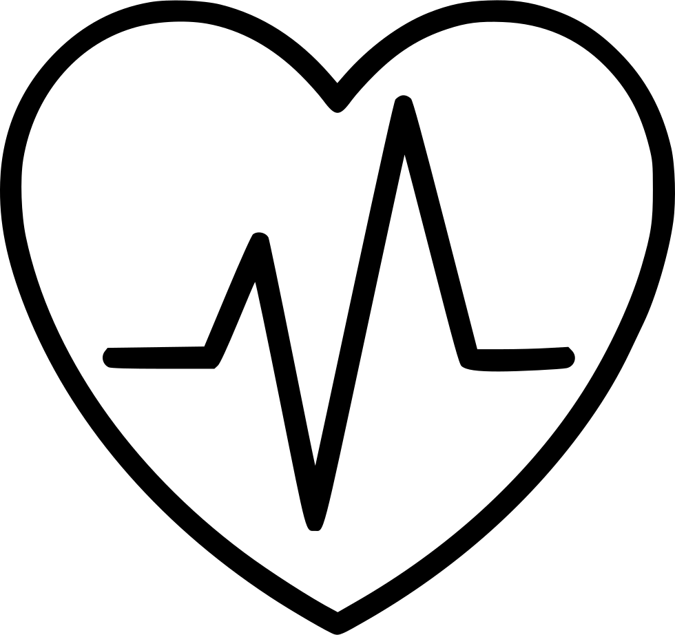 Heart organ png. Cardiology svg icon free