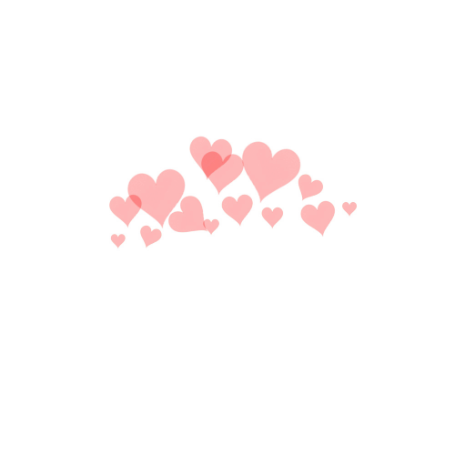 Heart overlay png. Hearts halo shared by