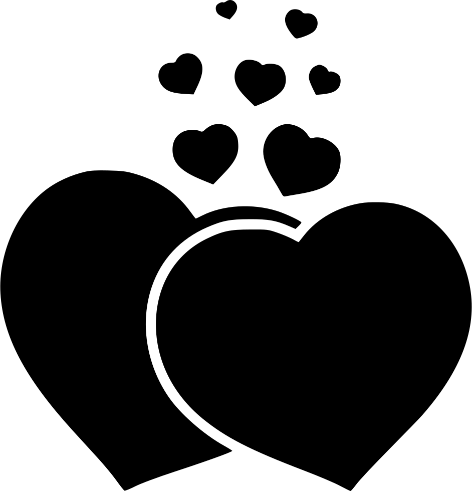 Heart paw png. Hearts svg icon free