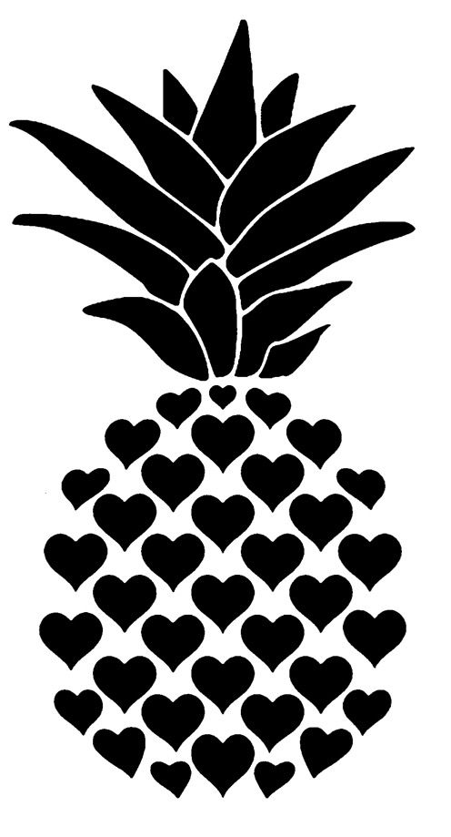 Heart pineapple. Guess what is coming