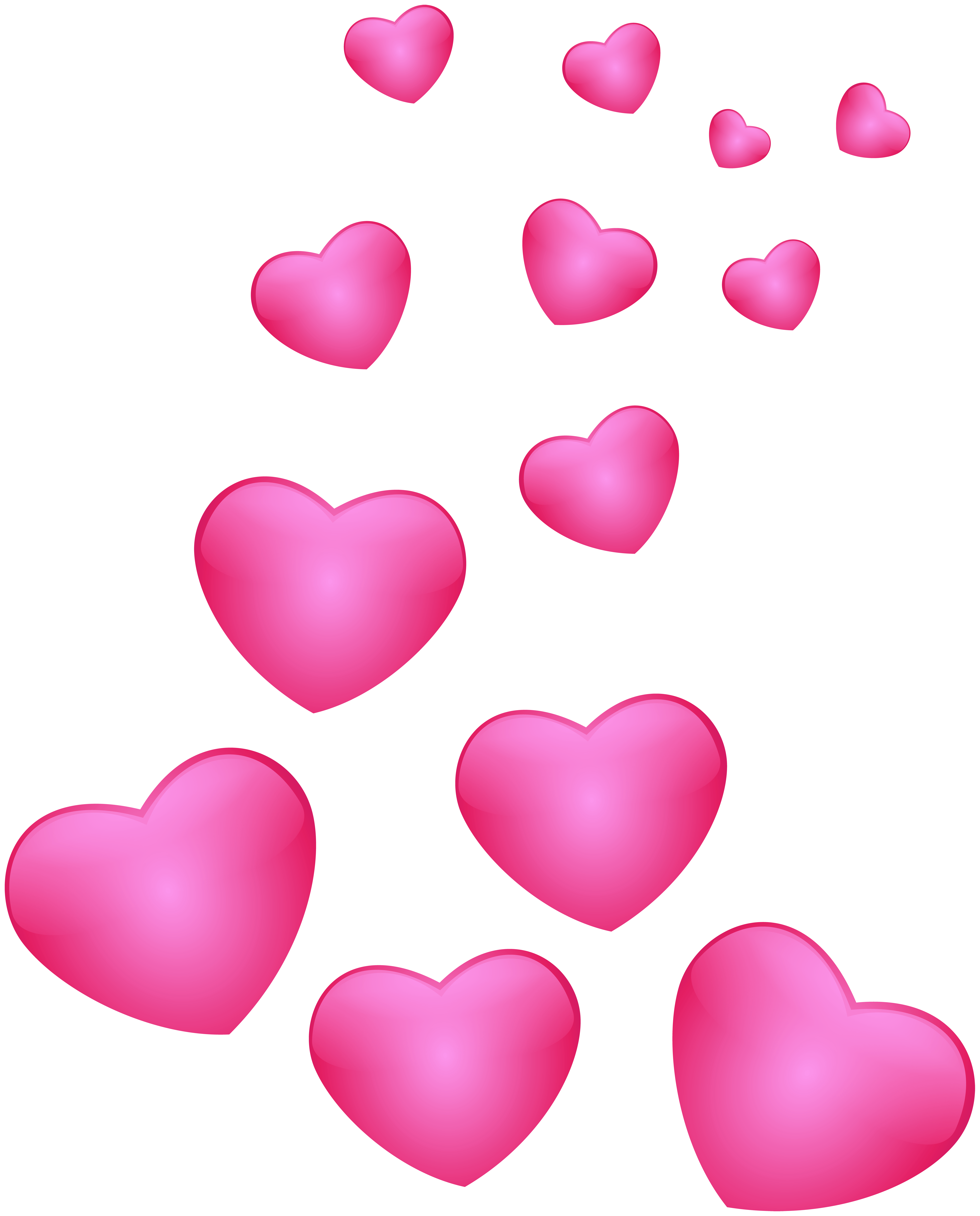 Heart pink png. Hearts clip art image