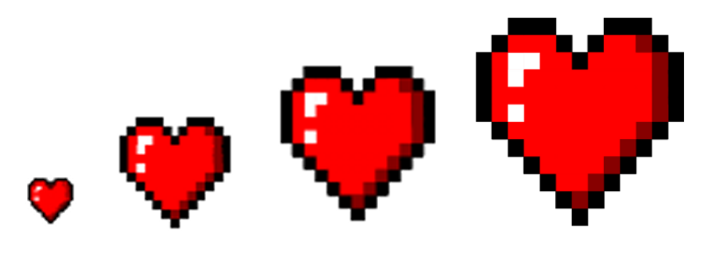 Heart pixel png. Art opengameart org preview