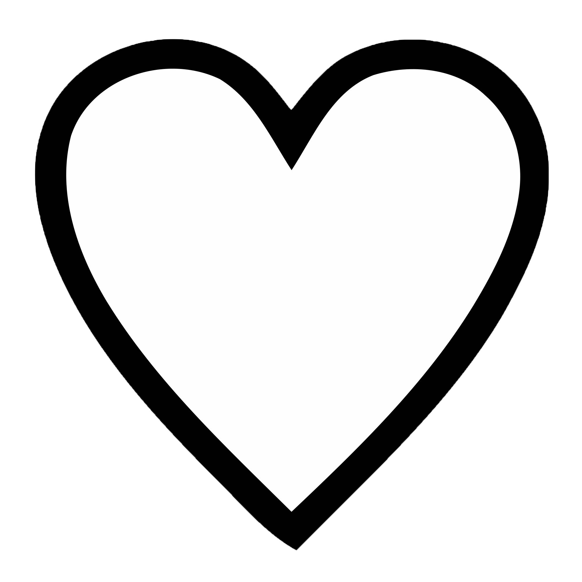 Heart, png clipart. Heart black transparent
