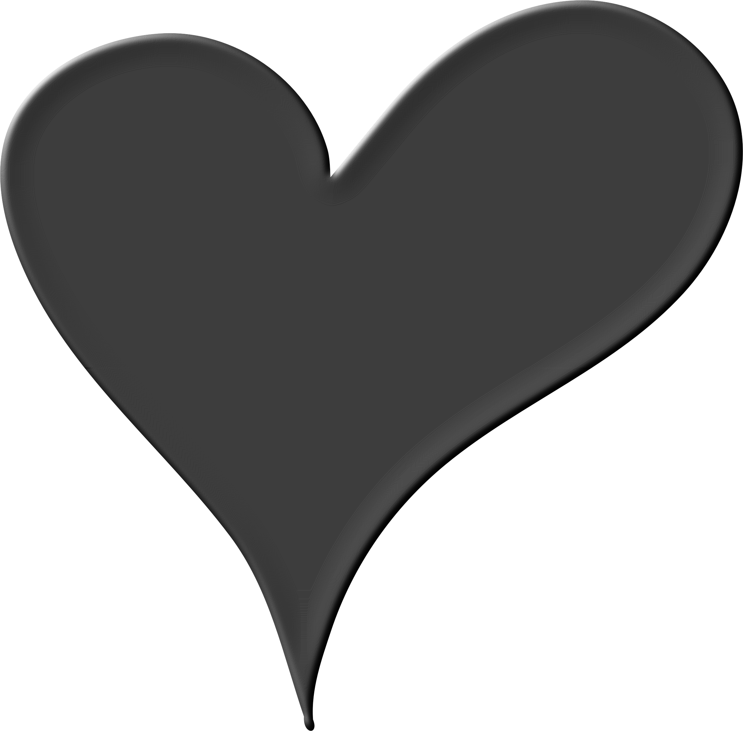 Heart png black. In icons free and
