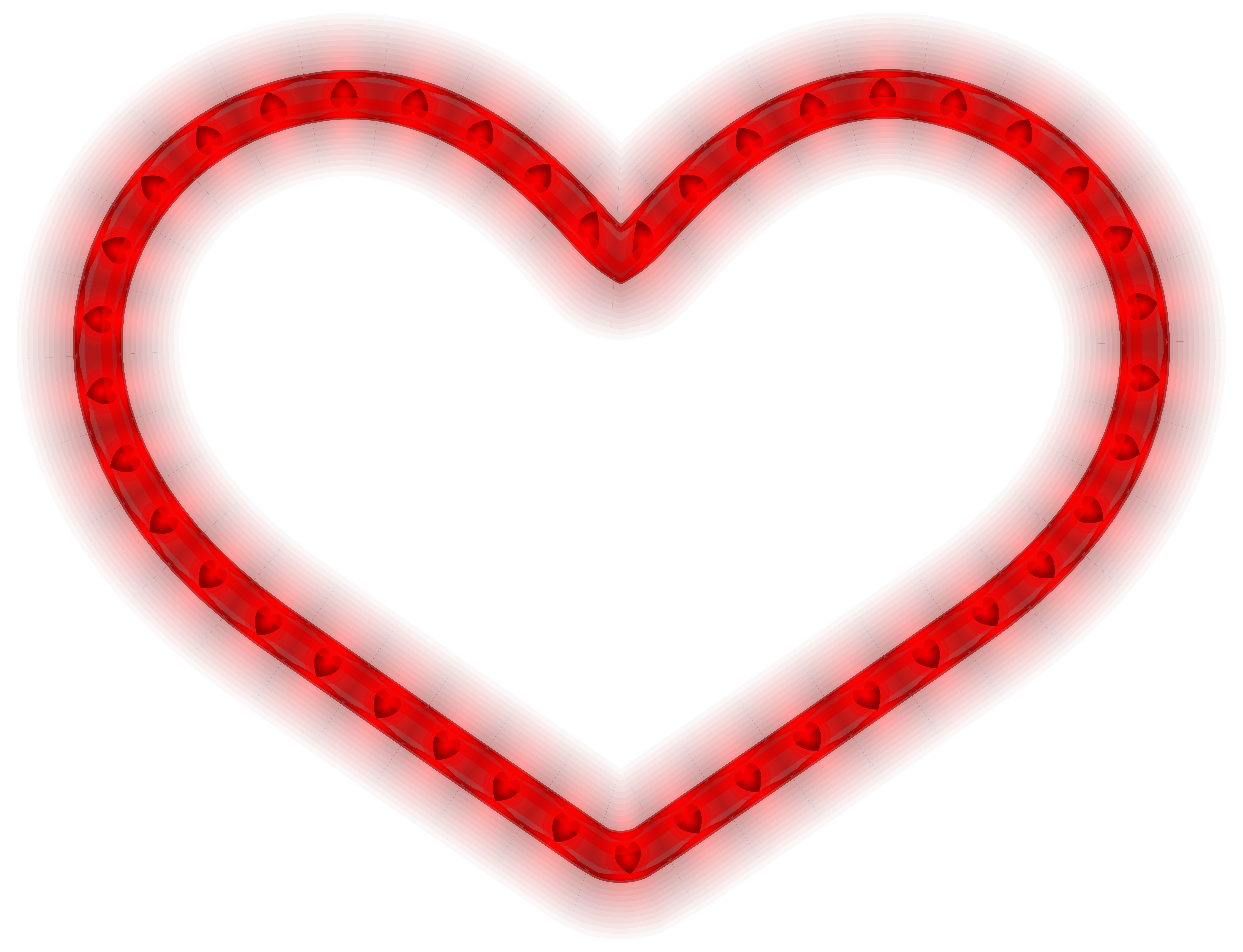 Heart png format. Glowing clipart image gallery
