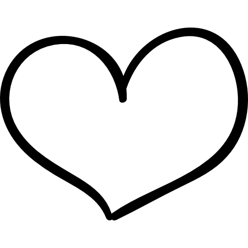 Heart, png hand drawn. Wedding icon svg