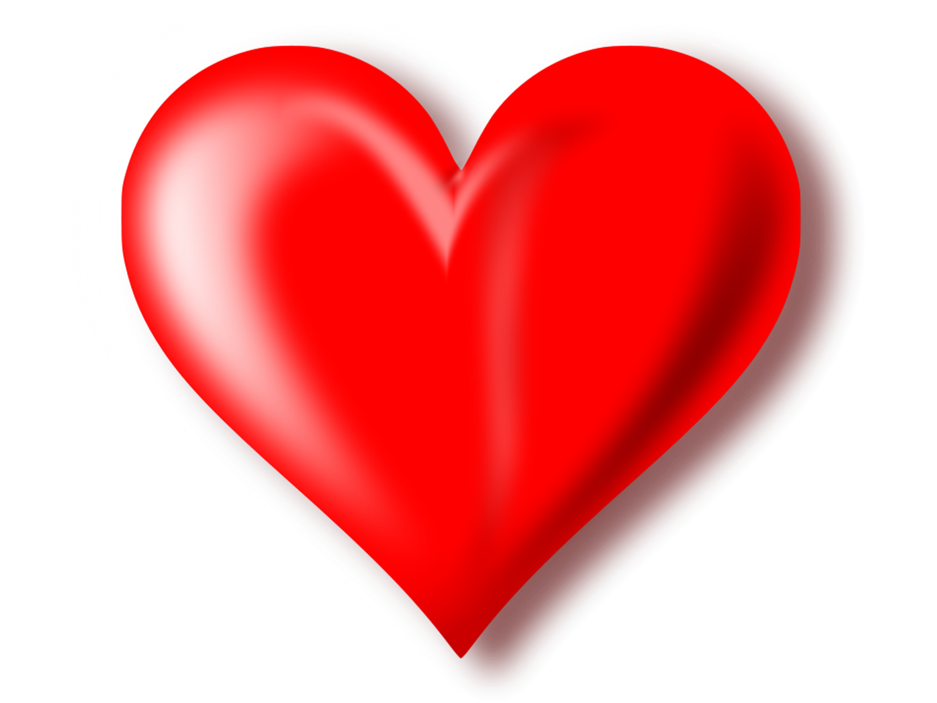 Heart png transparent background. D red mart