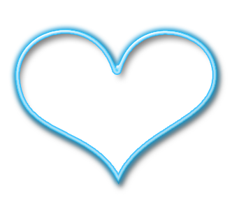 Heart, png light blue. Collection of heart