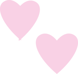 Heart, png light pink. Double hearts clip art