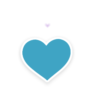 Heart, png periscope. Live video streaming messages