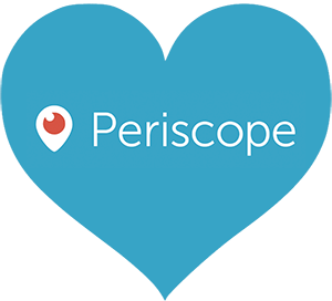Heart, png periscope. What is exactly top