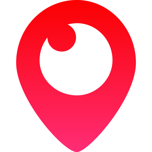 Heart, png periscope. Icon free social media