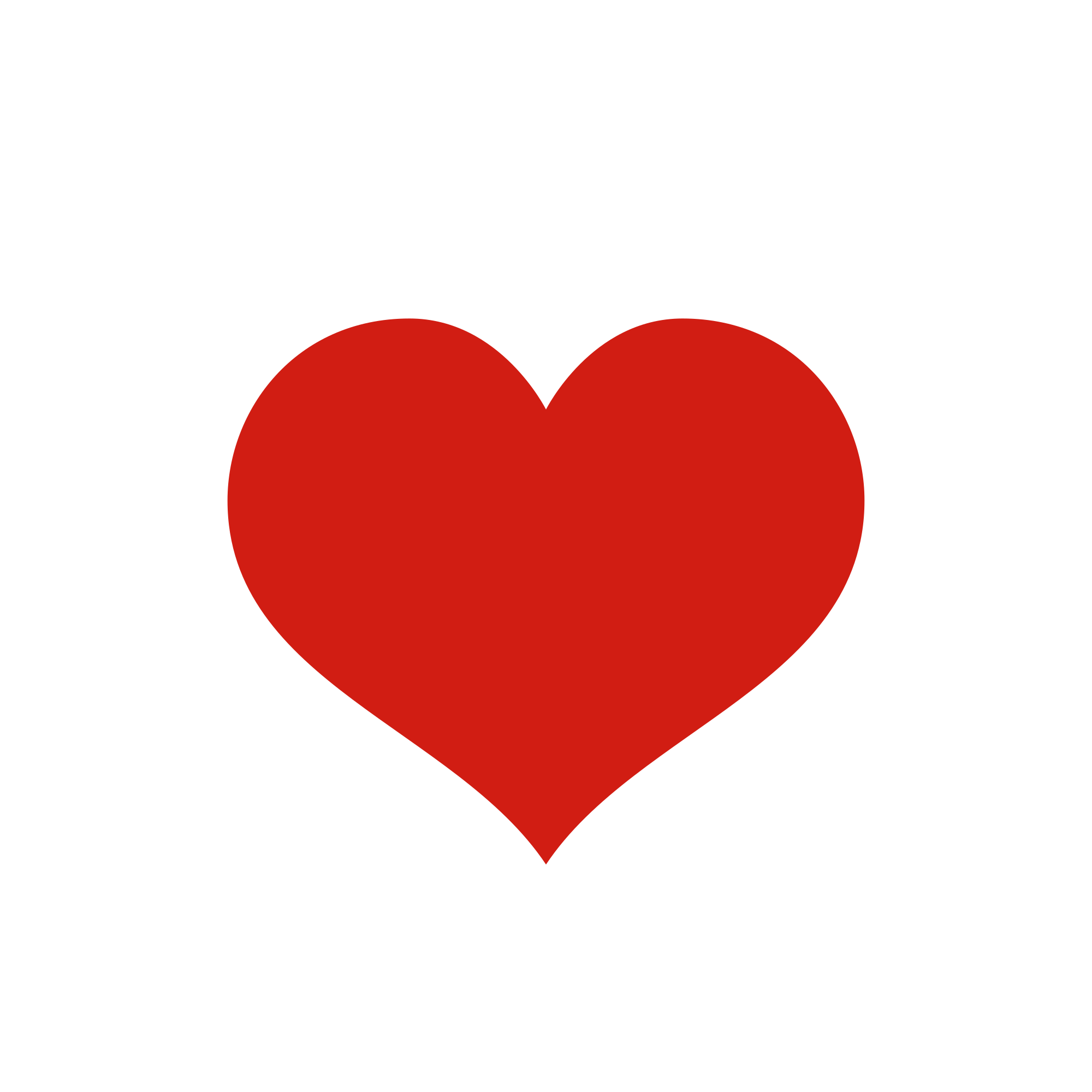 Heart, png red. File wikifont unie heart