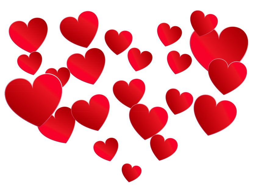 Hearts png. Transparent heart of picture