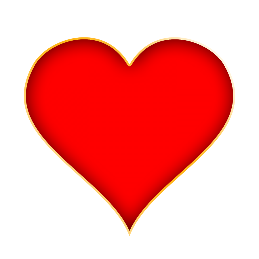 Red heart png. Valentine transparent background image
