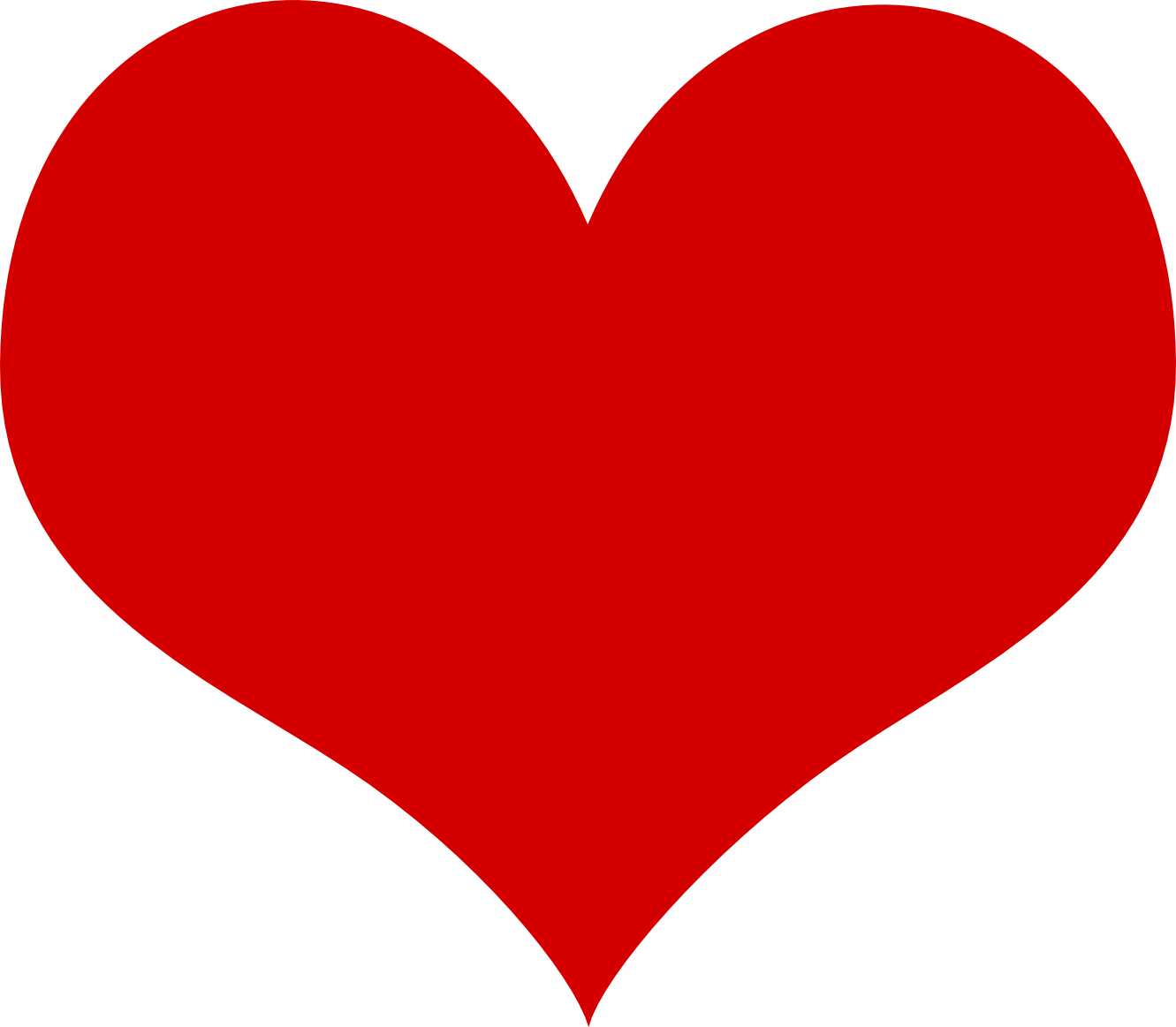 I heart png. Red image free download