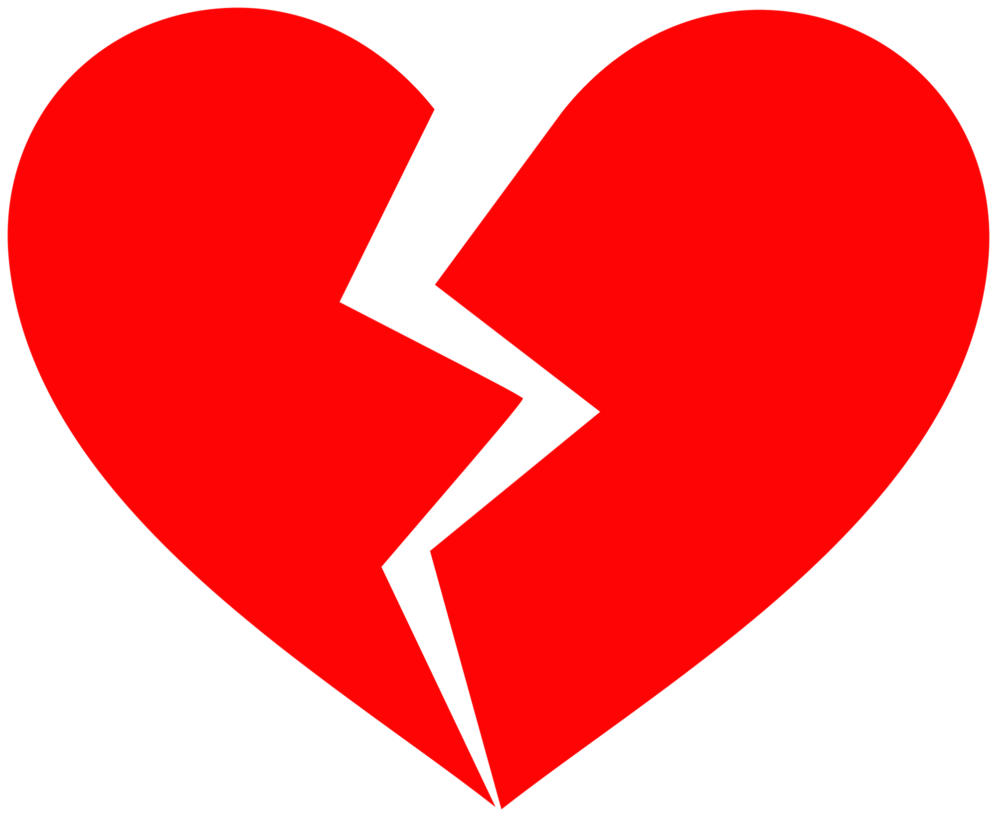 Heart png transparent background. Hd red broken free
