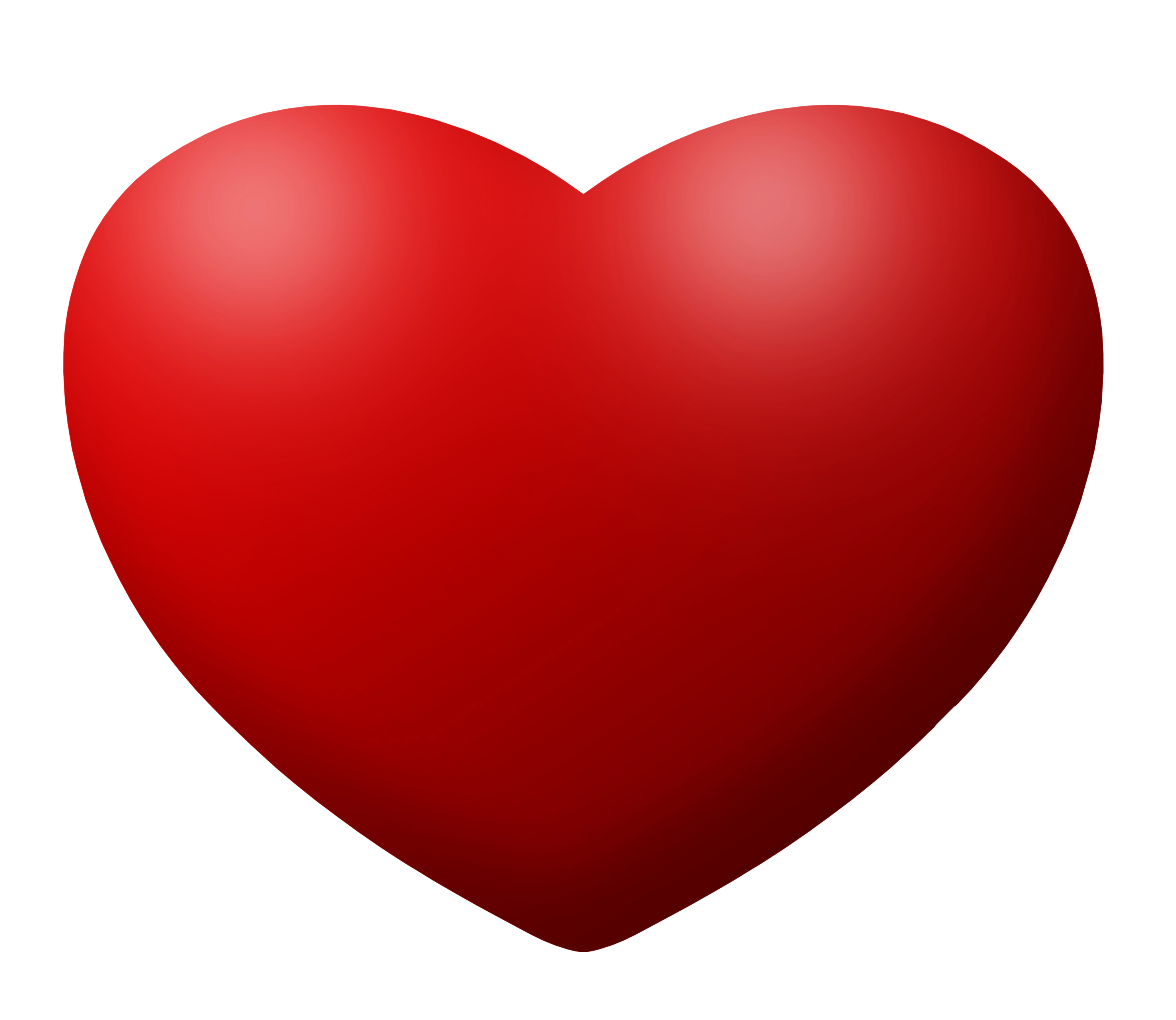 Transparent pictures free icons. 3d heart png vector royalty free download