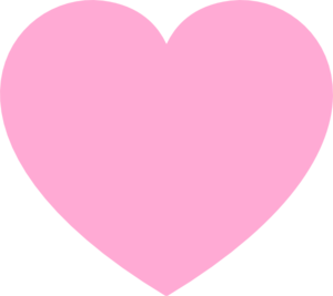 Heart png transparent pink. Love hd images clip