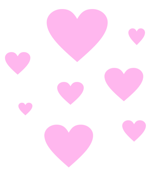 Hearts edit overlay sticker. Heart png tumblr picture download
