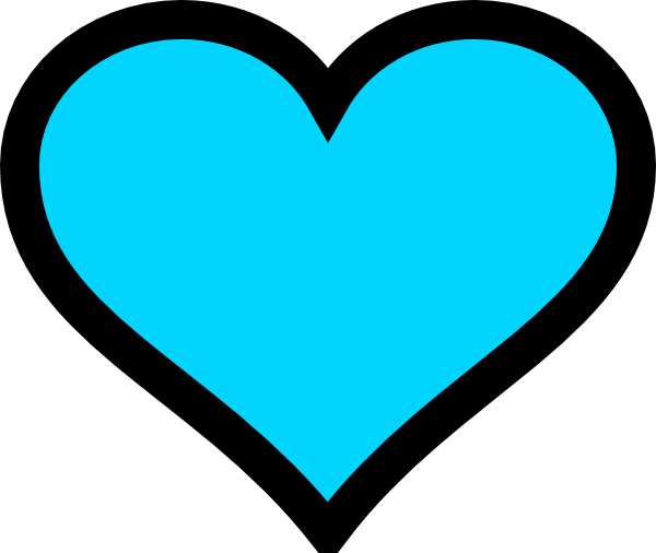 Heart, png turquoise. Heart clip art at
