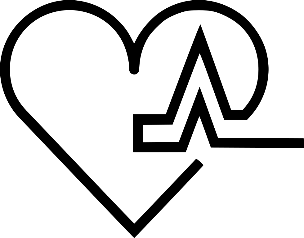 Svg icon free download. Heart pulse png vector royalty free download