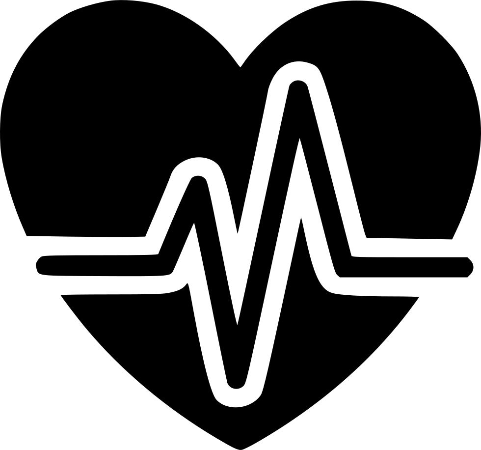 Svg icon free download. Heart pulse png image download
