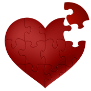 Heart puzzle png. By varloc spreadshirt