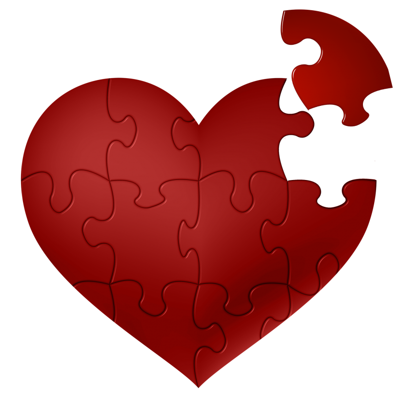 Heart puzzle png. Of compassion testifylife