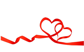 Heart ribbon png. Images and clipart free