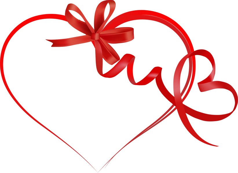 Heart ribbon png. Free images cliparts co