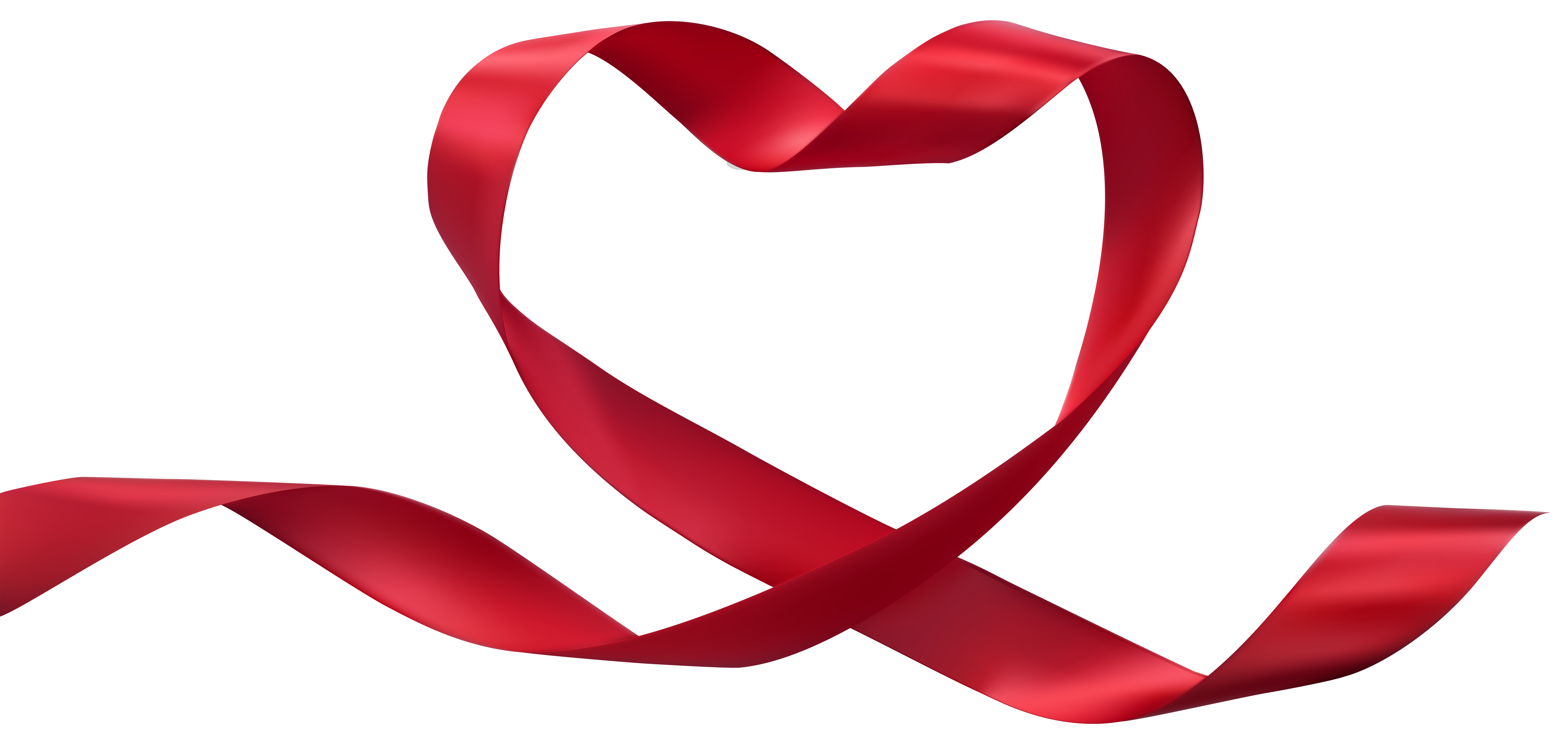 Transparent clip art image. Heart ribbon png picture black and white library