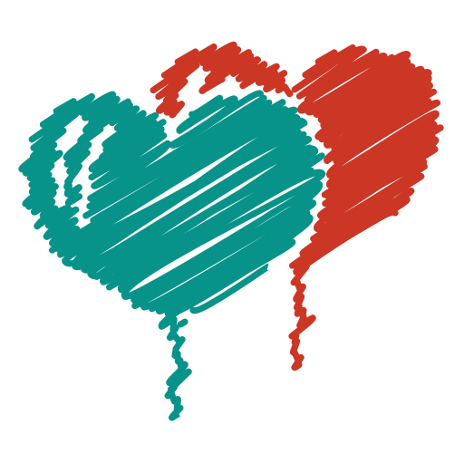 Heart scribble png. Baloon romance love party