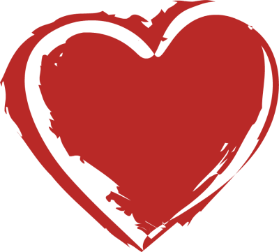 Image . Heart shape png transparent png black and white download