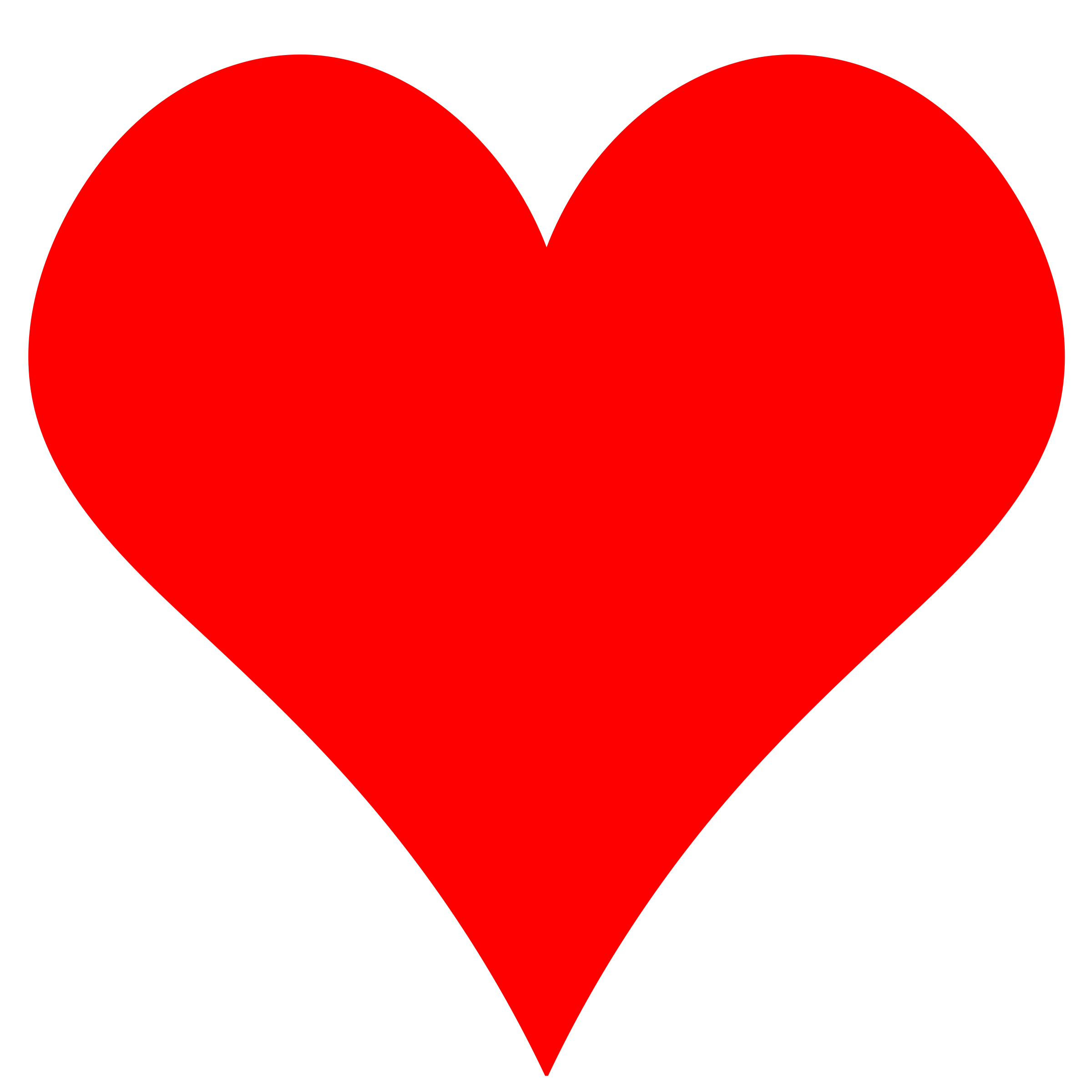 Heart, png small. Plain red heart shape