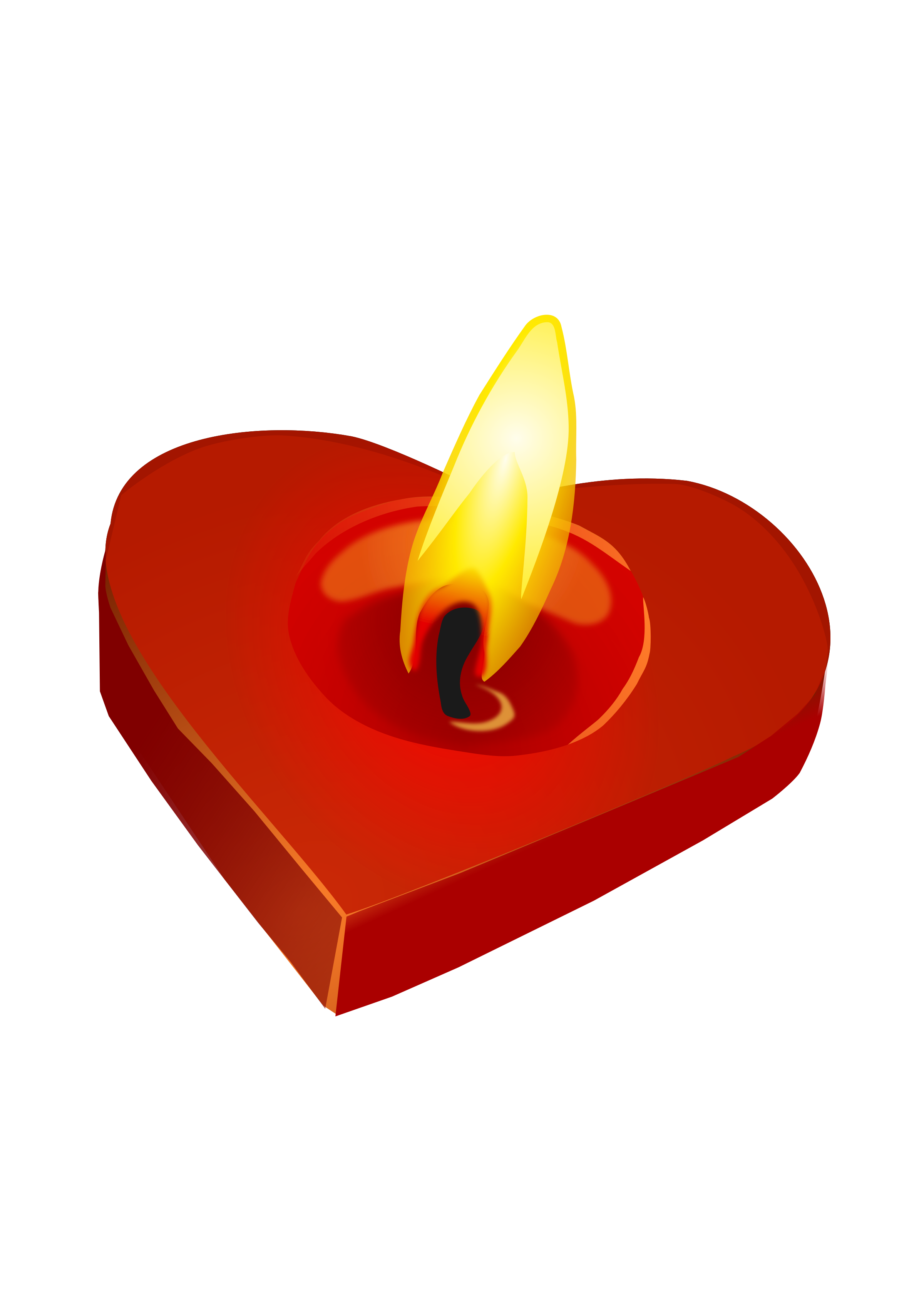 Heart shaped candles png. Valentine s candle icons