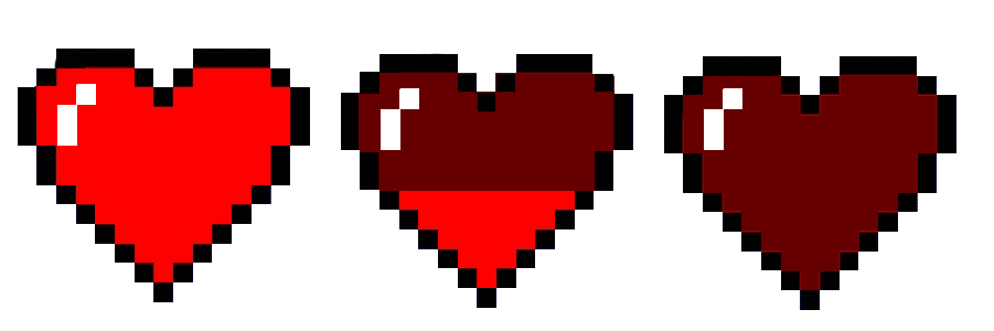 Heart sprite png. Sprites life by yukikootomiye