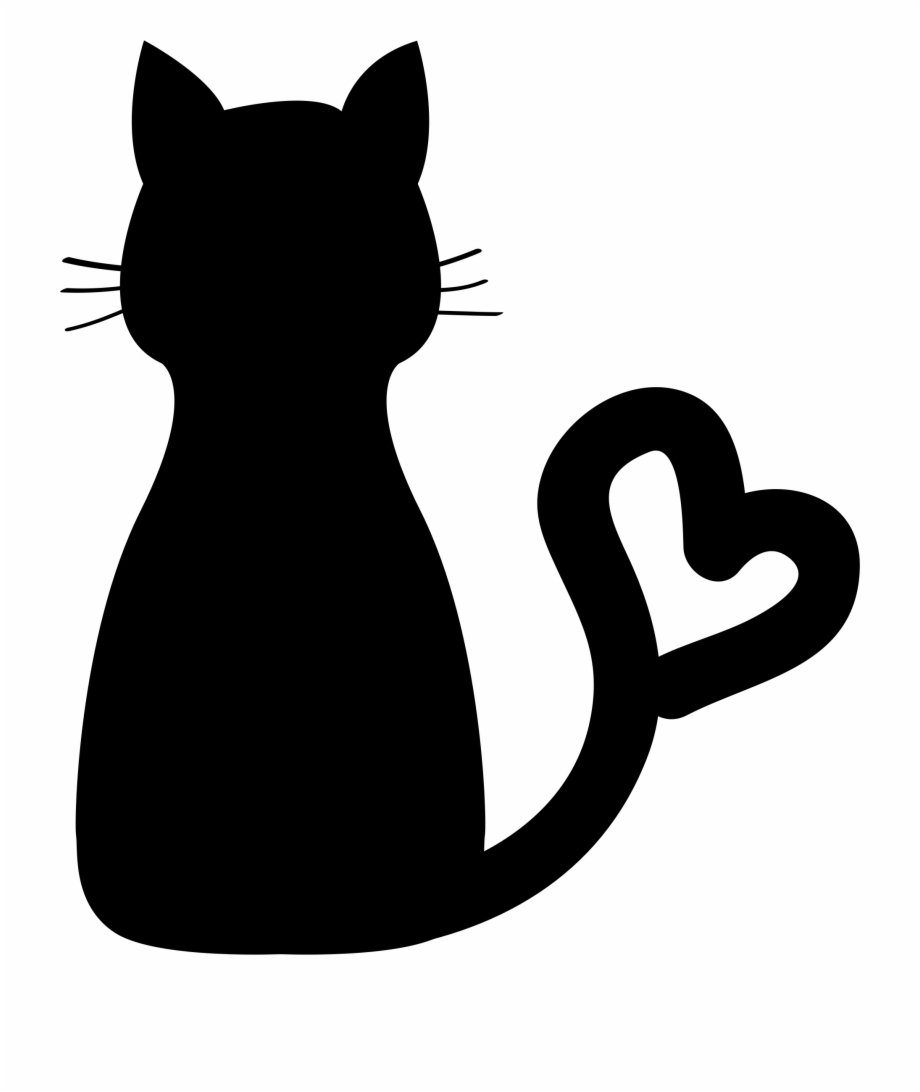 Heart tails. Png library download cat
