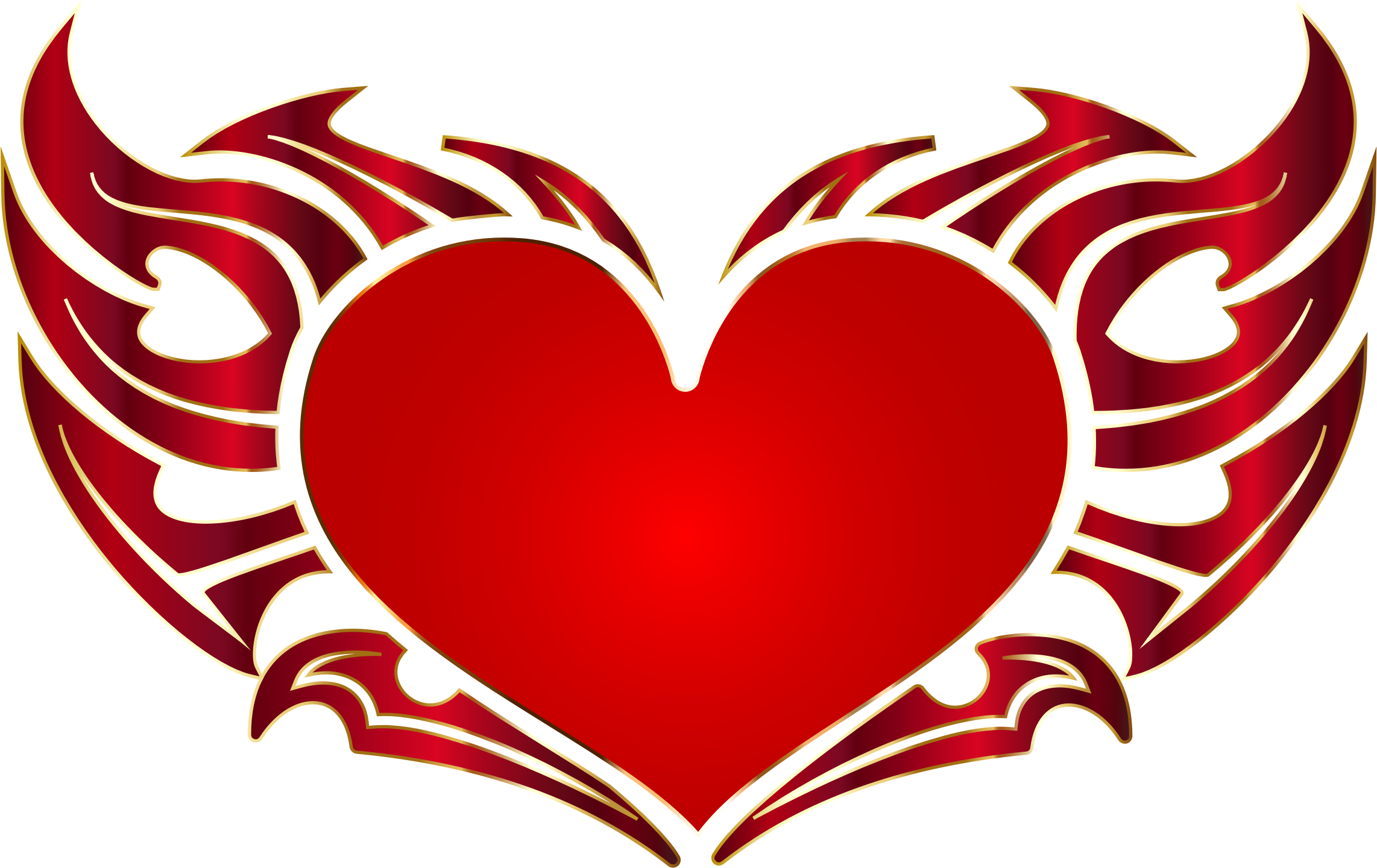 Heart tribal png. Enhanced no background icons