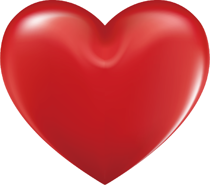 Heart vector png. Vectors psd and clipart